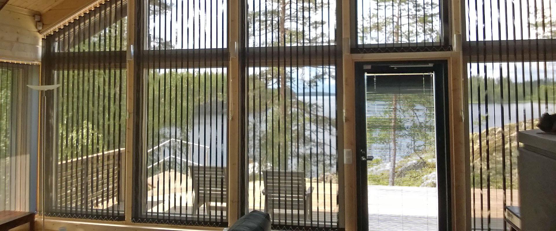 Screen kaihtimet sisätiloihin - Kaihdin Sampo Oy - Tampere